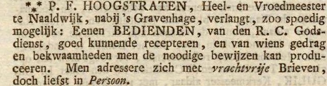18300116 Opregte Haarlemsche Courant