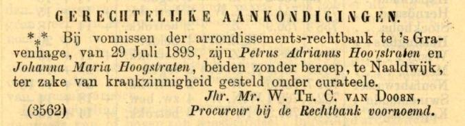 18980811 Nederlansche Staatscourant