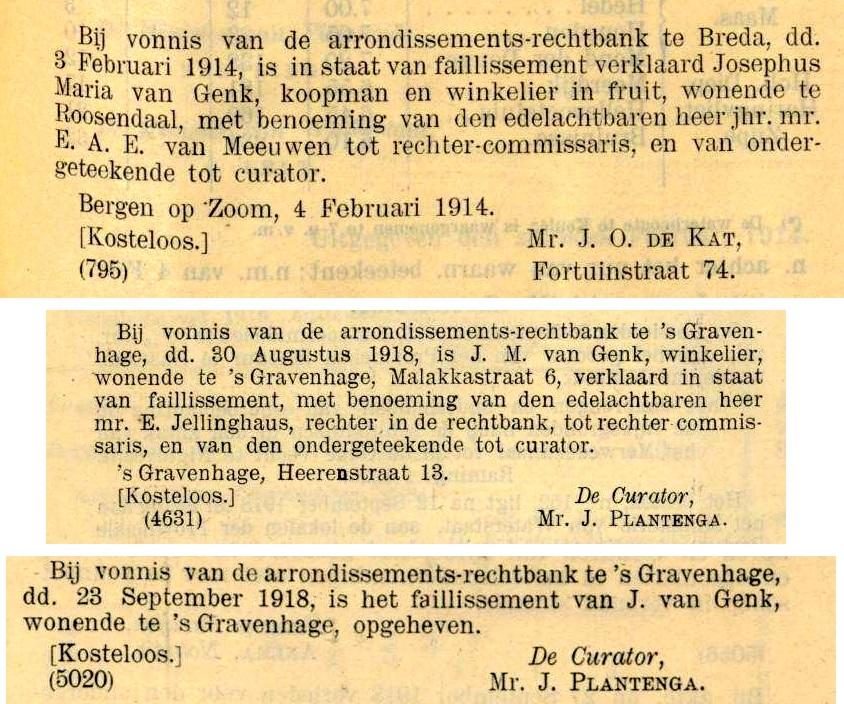 1914-1918 Nederlandsche Staatscourant