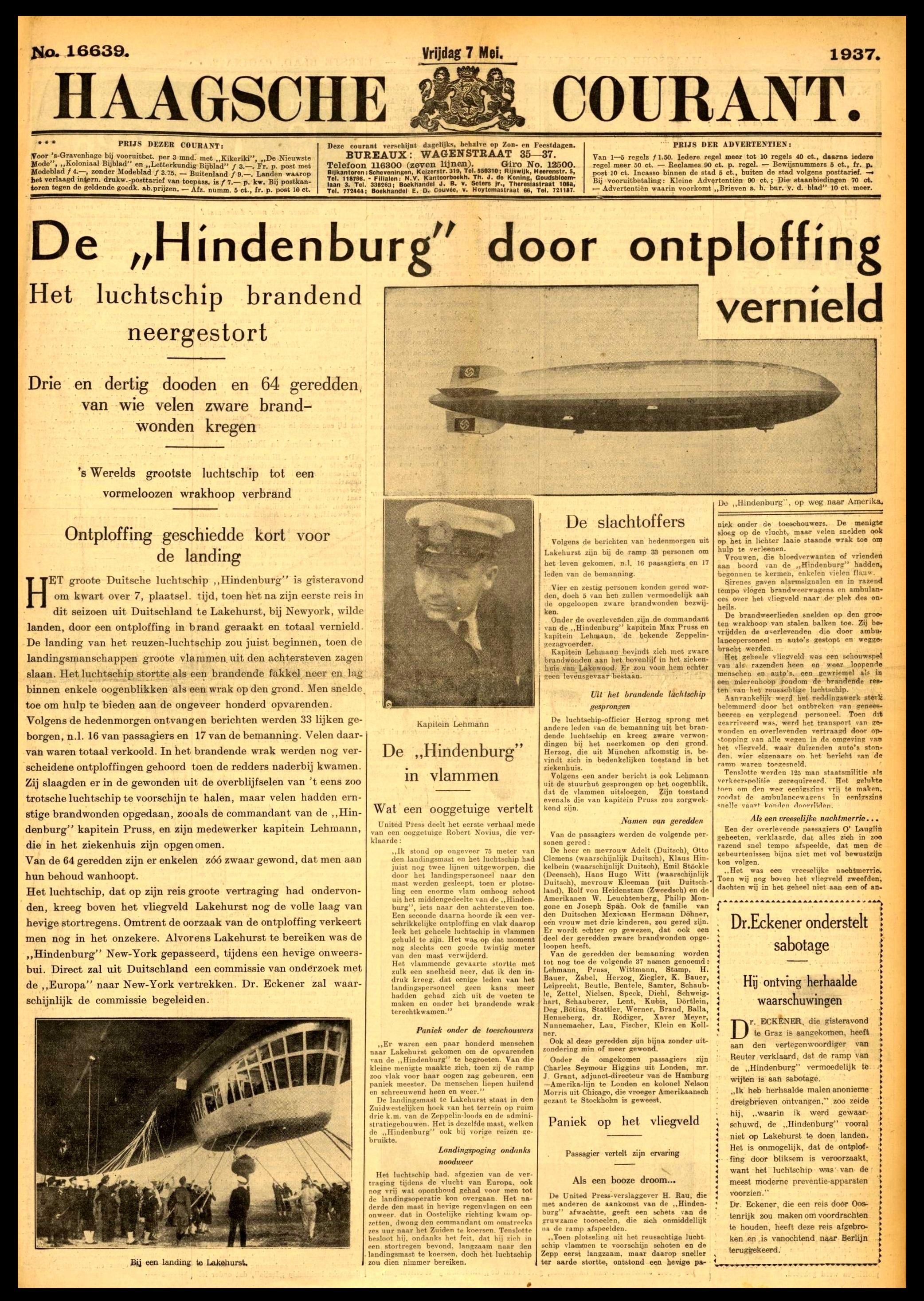 19370507 Haagsche Courant