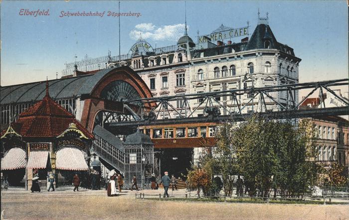 Elberfeld-Wuppertal-Schwebebahn-Doeppersberg-Wuppertal-Wuppertal-Stadtkreis